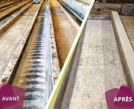 renovation batiment agricole pour ecoulement des eaux